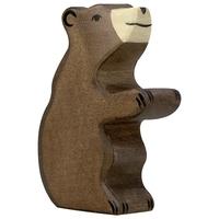 Holztiger Brown Bear, small, standing