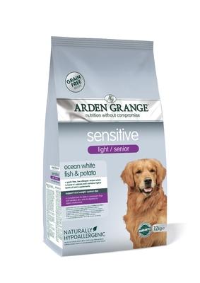 Arden Grange Light Senior Dog Sensitive 12kg