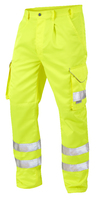Leo BIDEFORD ISO 20471 Cl 1 Poly/Cotton Cargo Trouser Long Length