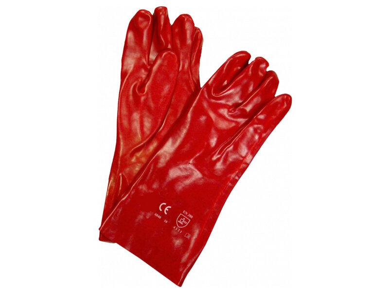 "REDBACK PVC Open Wrist Glove 14"" (36 cm) (Pair)"