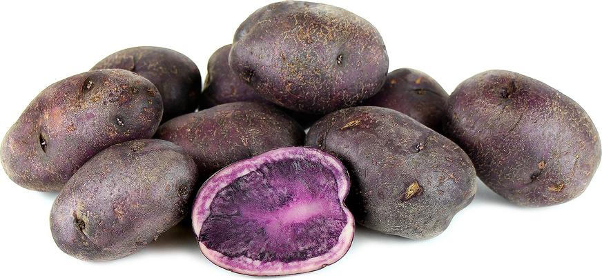 Box vitelotte potato