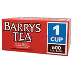 Barrys Gold Blend Tea 1 Cup 600's x1