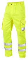 Leo BIDEFORD ISO 20471 Cl 1 Poly/Cotton Cargo Trouser Regular Length