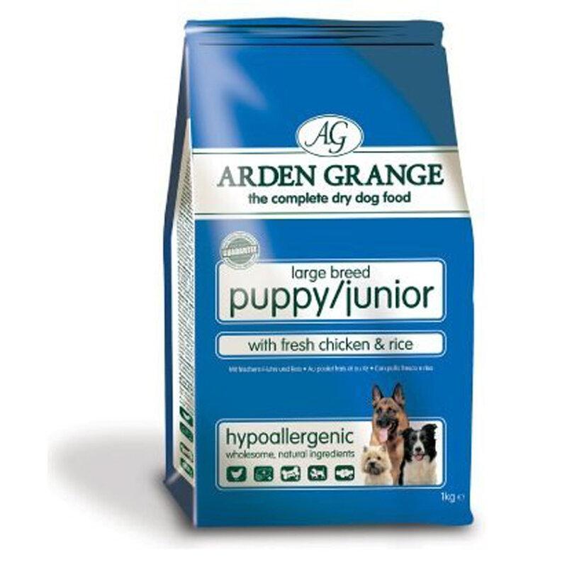Arden Grange Chicken Puppy/Junior Large Breed Dog Food 2kg