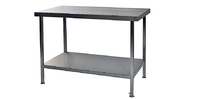 Centre Bench Stainless Steel 2100mm x 800mm