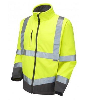 LEO Buckland Hi-Vis Softshell Jacket