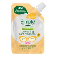 Simple Kind To Skin Protecting Light Moisturiser Travel Pouch 50ml