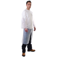 Polythene Disposable Visitors Coat