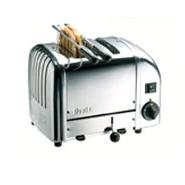 Toaster Sandwich Standard White Ends Proheat 2 Slot Dualit
