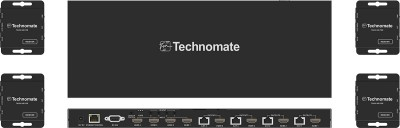 Technomate 1080p 4x4 Matrix Over CAT5/6