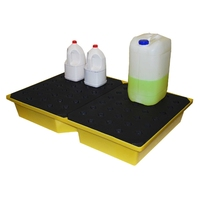 Spill Tray with grid deck 104 l capacity