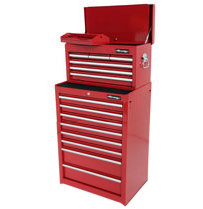 NEILSEN 2 Piece Toolchest 13 Ball Bearing Drawers  CT1069