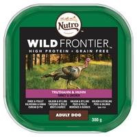 Nutro Wild Frontier Ancestral Dog Trays - Chicken & Turkey in Loaf 300g x 20
