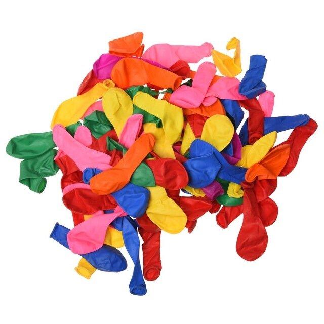 DMI Balloons Assorted 100pk