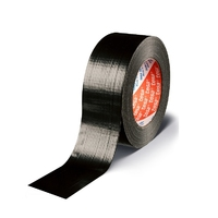 "2"" x 50m Tesa Cloth Tape - Black (WT385/B)"