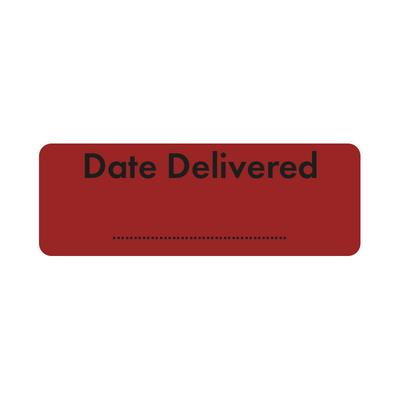 Purfect Syringe Drug Label (400) - Date Delivered