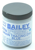 200G BLUE DRAIN TRACING DYE