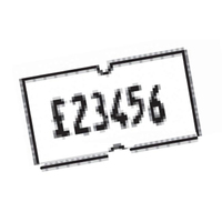 CT1 Price Label White  10k