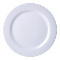 Dinner Plate 230mm Melamine White Carton of 12