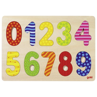 Wooden Jigsaw Puzzle - Numbers