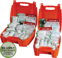 Evolution Workplace First Aid Kit, Orange Cases