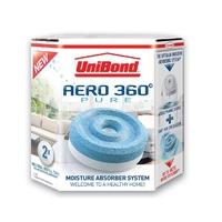 Unibond Aero 360 Moisture Absorber Refill Pure 2pk