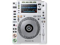 Pioneer CDJ-2000NXS2-W Pro Digital DJ Deck with 96kHz/24 bit Hi-Res Audio Playback (White)