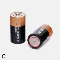 DURACELL C BATTERY (PACKET 2)