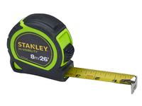 Stanley 8m (26ft) Hi-Vis Tape
