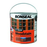 5 Year Woodstain 2.5L Dark Oak
