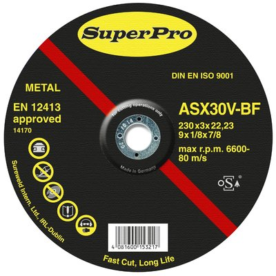 Professional Hard Steel Cutting Disc Superpro Sureweld Dublin