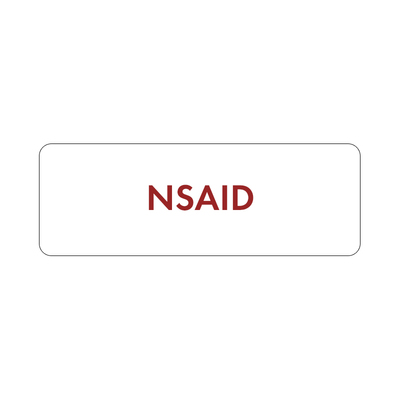 Purfect Syringe Drug Label (400) - NSAID