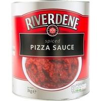 Tin Pizza Sauce (Spiced) Riverdene - 3kg (Single)