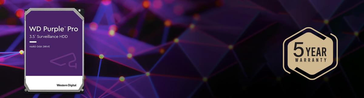 WD Purple Pro Storage - Pro Performance for Advanced Analytics