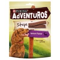 Purina Adventuros Strips Venison Flavour 90g x 6