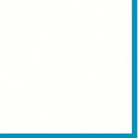 "Mountboard White On Blue 40"" x 32"" 1600mic"
