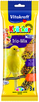 Vitakraft Canary Triple Kracker Honey & Sesame / Egg & Grass Seeds / Apricot & Fig x 7