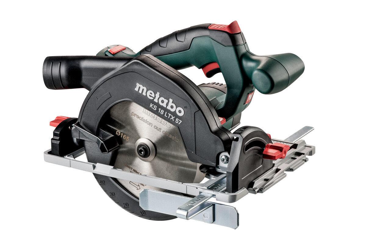 Metabo KS 18 LTX 57 Cordless Circular Saw & MetaLoc