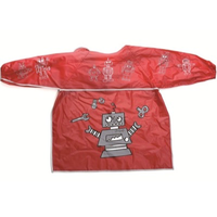children's robot art apron