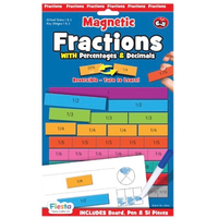 Fractions Magnetic activity set - front of packaging