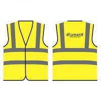 eLumen8 Hi Vis Vest - Extra Large