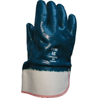 Armantite Nitrile Dip Safety Cuff, Blue