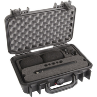 DPA d:dicate™ 4007A Stereo Pair with Clips and Windscreens in Peli Case