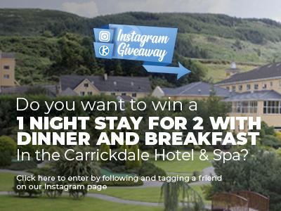 Instagram Giveaway - Carrickdale Hotel