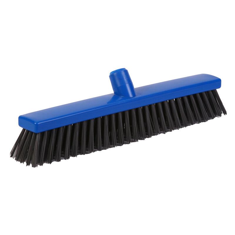 Detectable sweeper - stiff PBT bristle, 400mm, blue