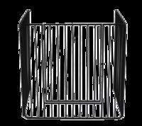 Stove Guard With Bars & Swing Door