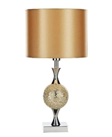 Elsa Table Lamp, Gold Mosaic Complete with Shade | LV1802.0132