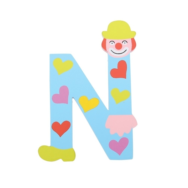 Clown Letter N Irish Creative Stamping Ltd