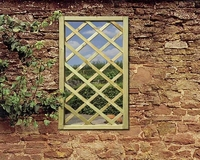 Grange Mirror Lattice Window