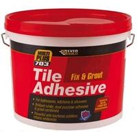 Everbuild Fix & Grout Tile Adhesive 5L